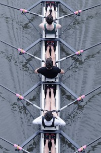 Rowers by Y